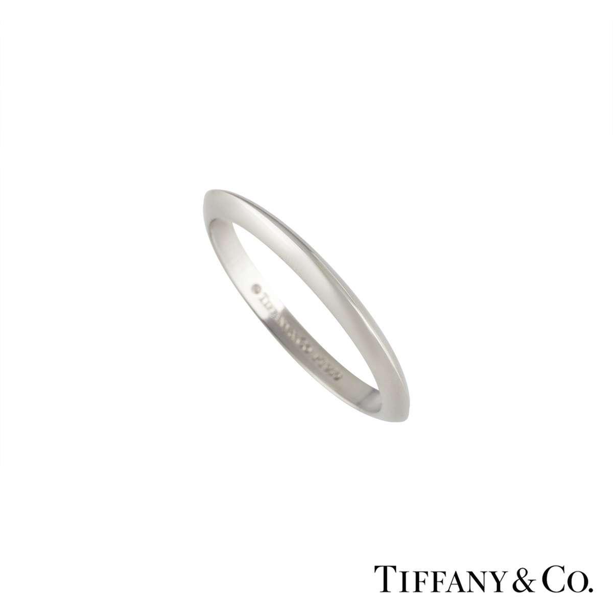 Tiffany & Co. Wedding Band in Platinum